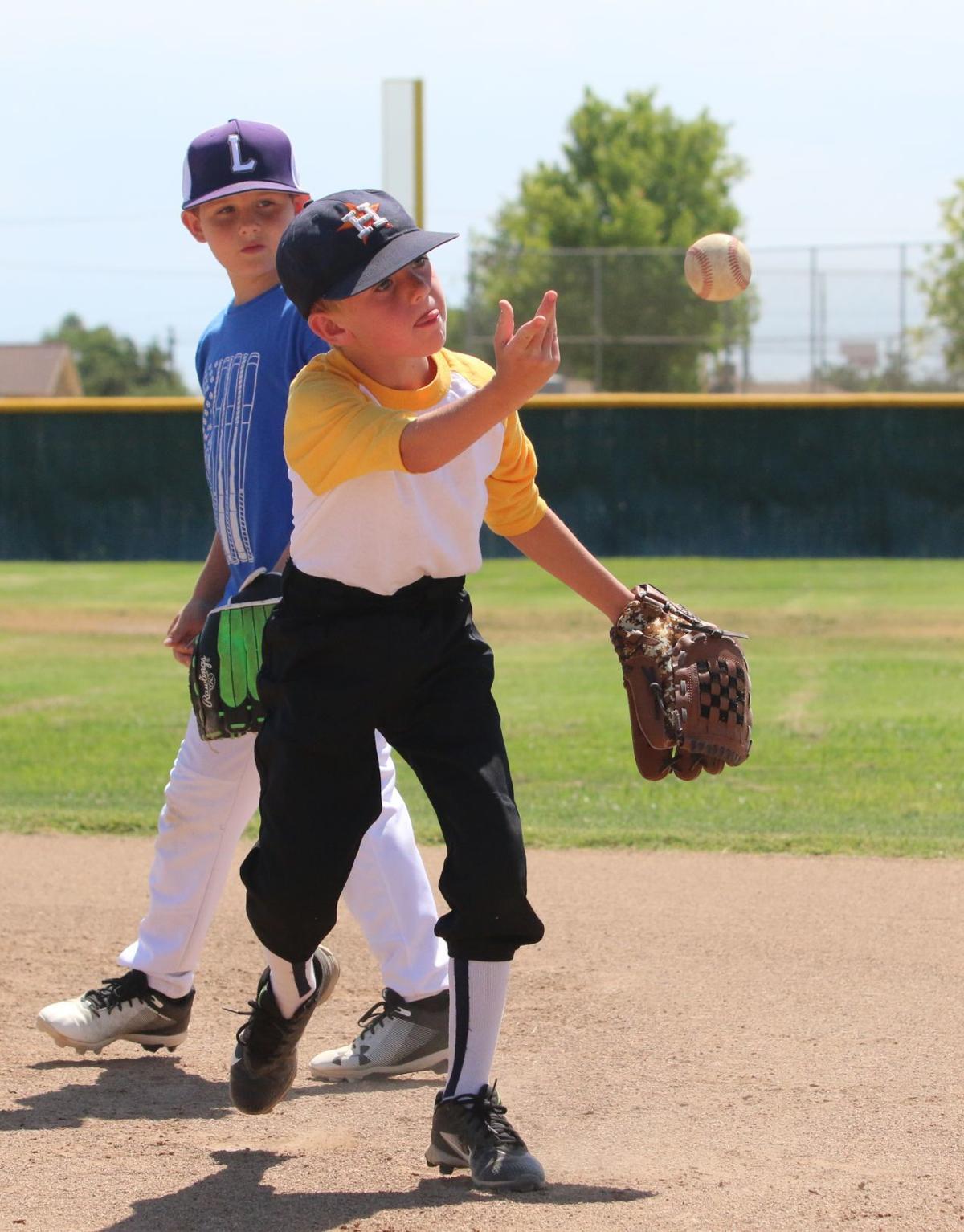 Learning baseball fundamentals