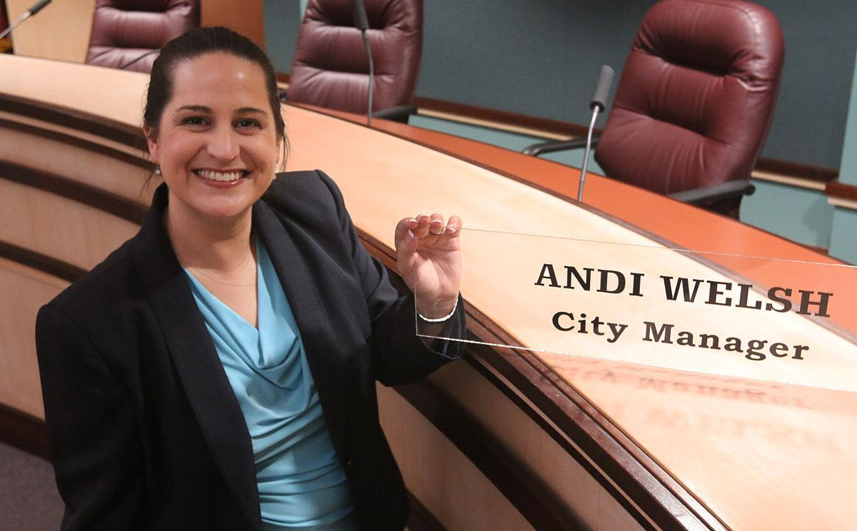 Lemoore City Manager Andi Welsh