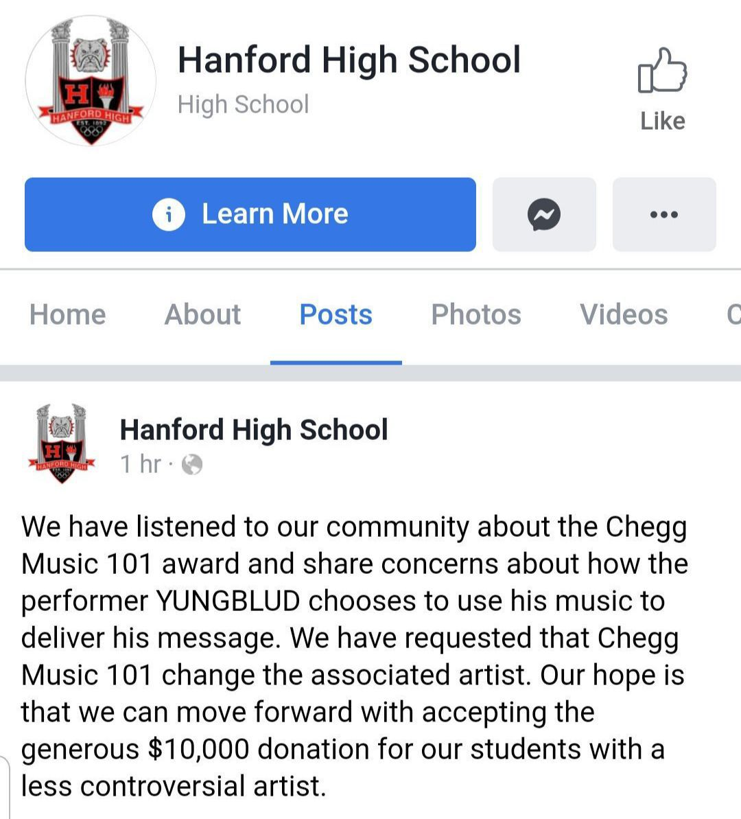 HHS YUNGBLUD post