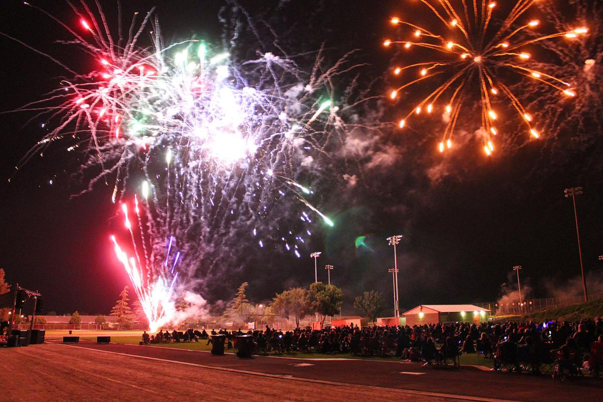 Saluting1: Fireworks