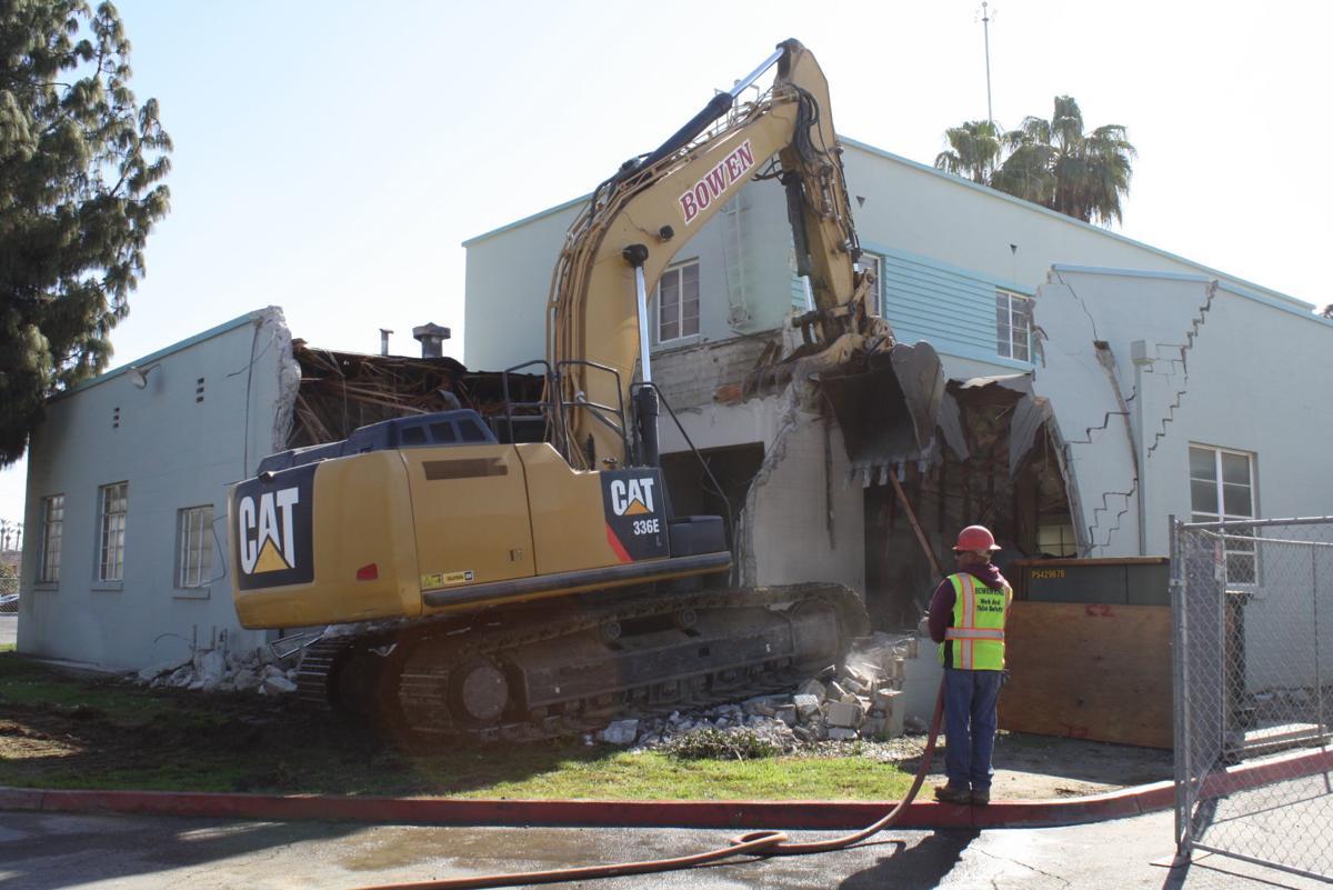 Old fire station demolish