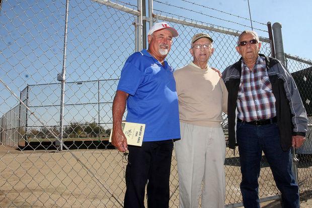Softball reunion in Hanford