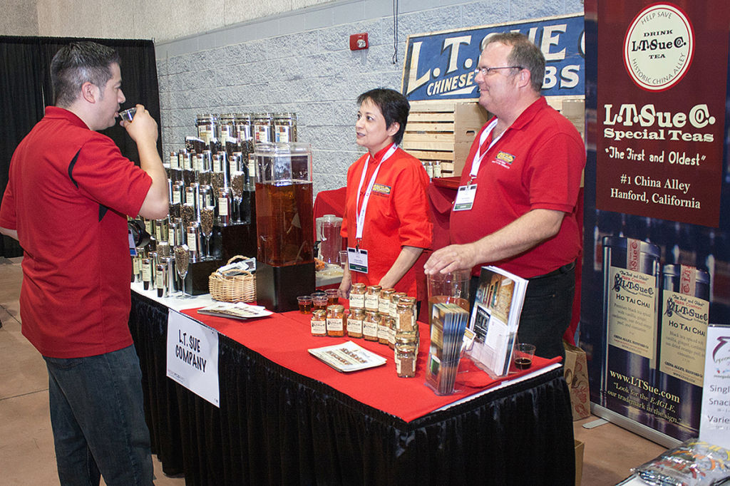 L.T.Sue wins award at Food Expo