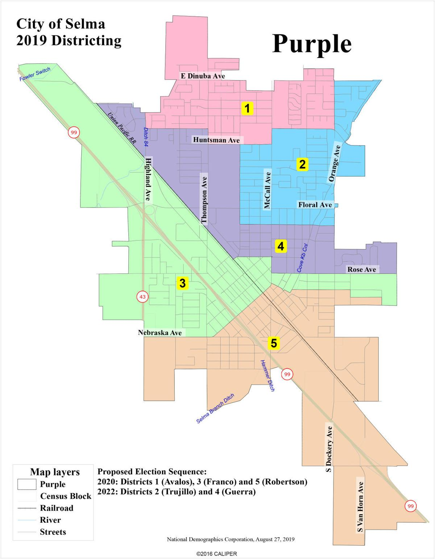 Selma City: Purple