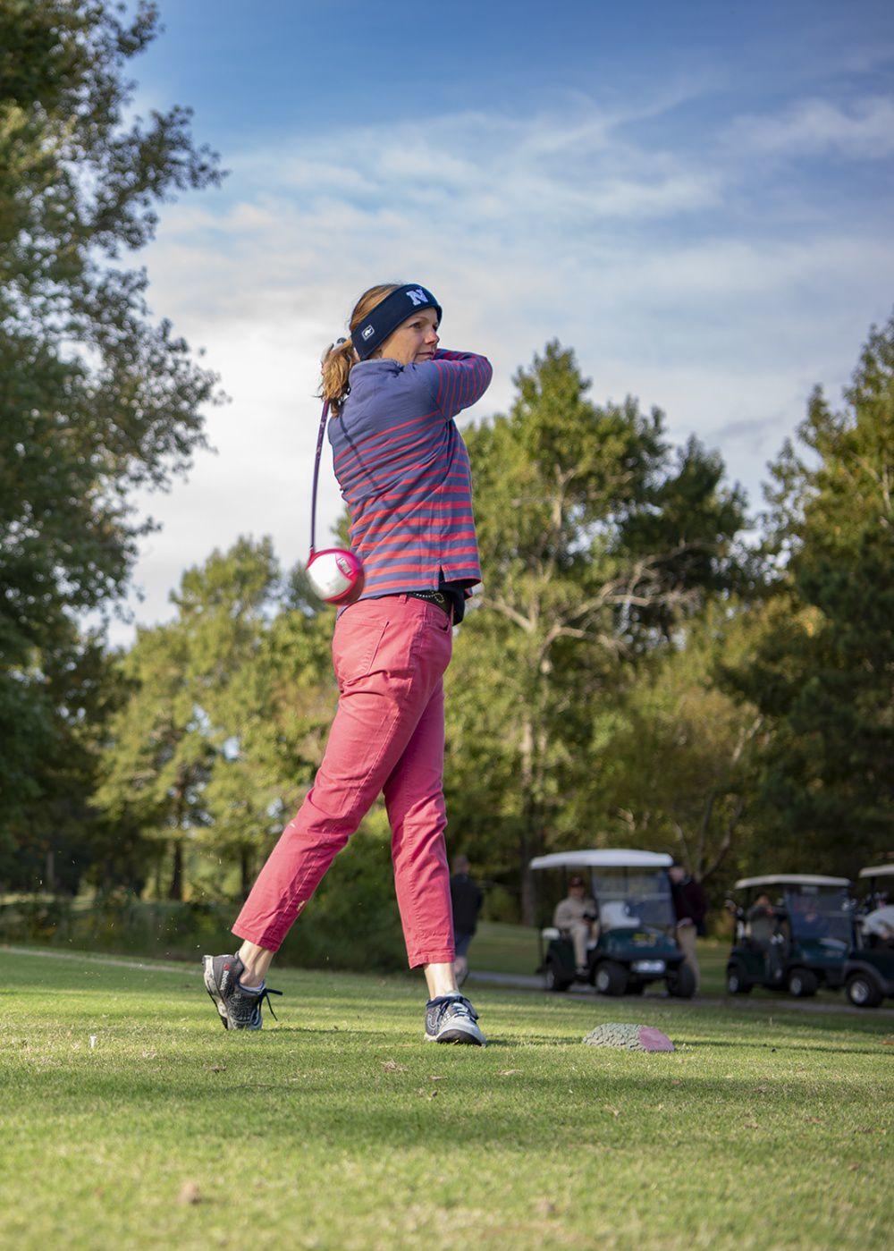 GW Hosts Tembe Golf Tournament