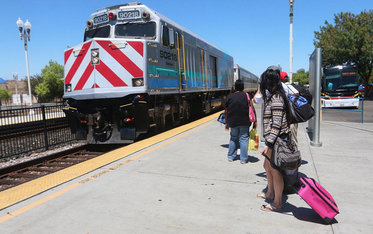 Amtrak to switch control from CalTrans