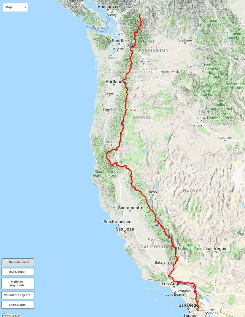 Local Veteran To Hike 2 650 Mile Pacific Crest Trail Local