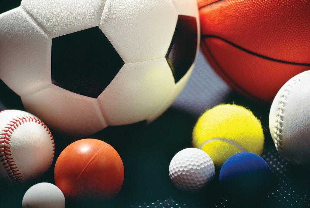 Soccer ball, basketball, other sports balls