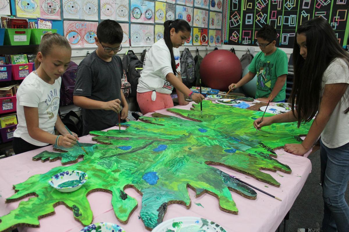 Painting peace: Tree of Peace