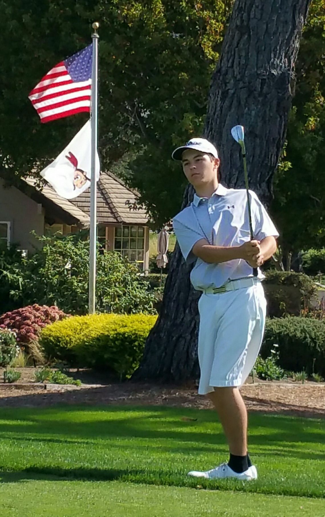 PGA Tour: Brian Stark hits a shot