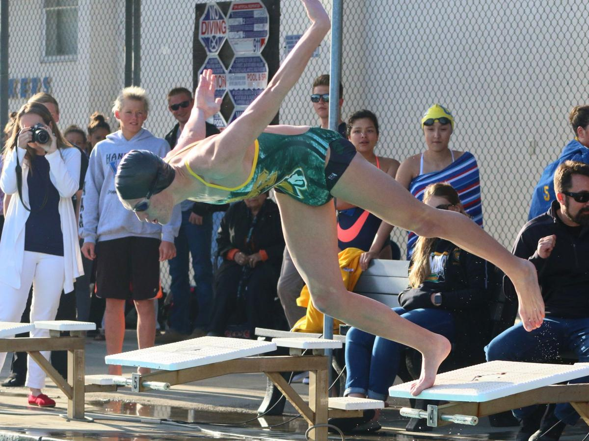 Sierra Pacific swims past Corcoran