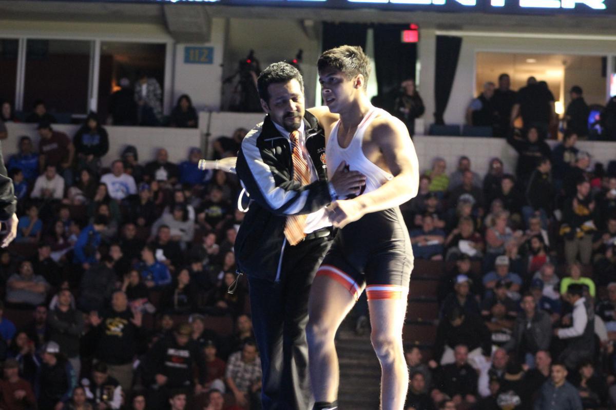 Selma wrestling: Sam Lopez