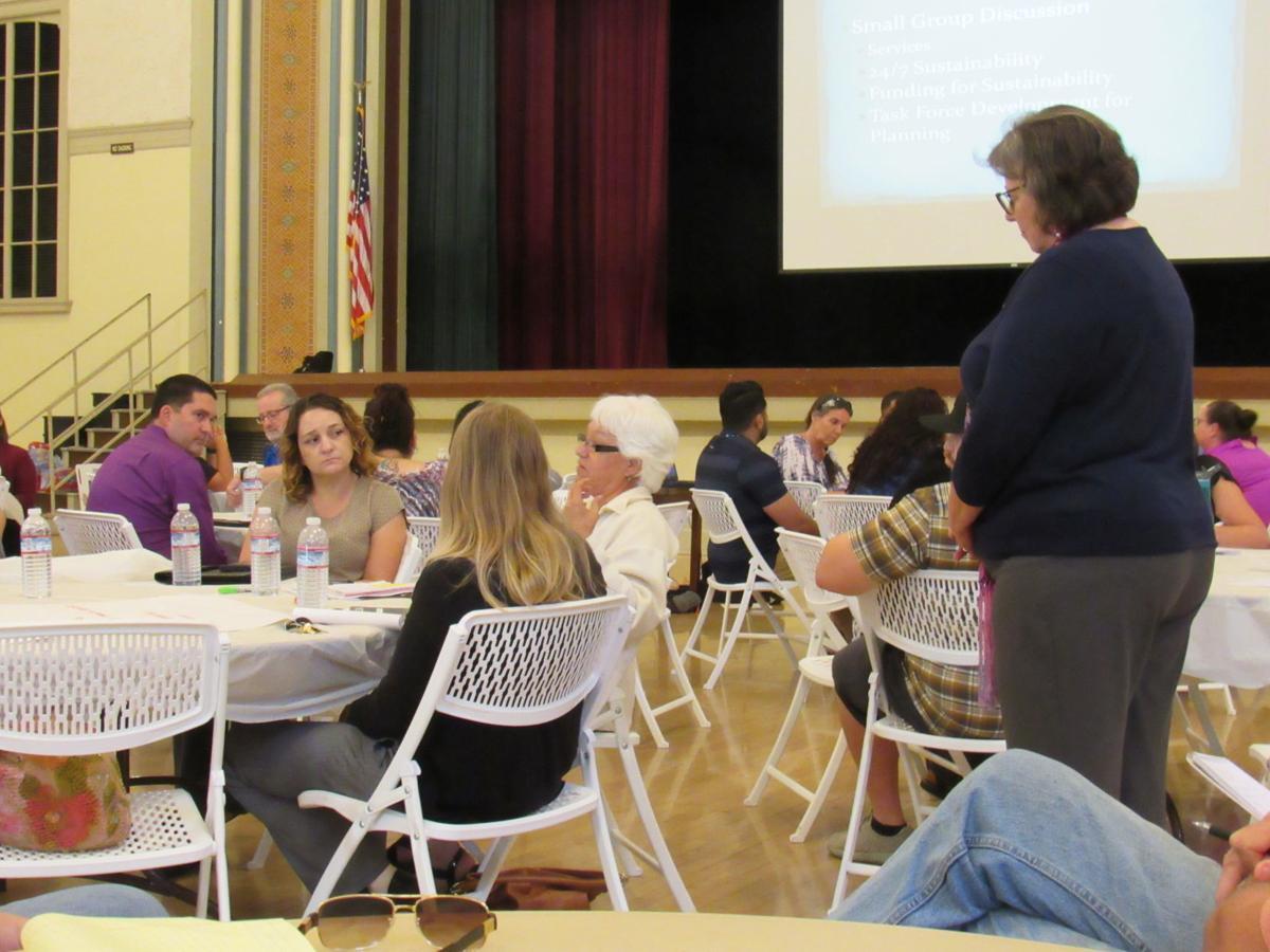 Homeless center seminar