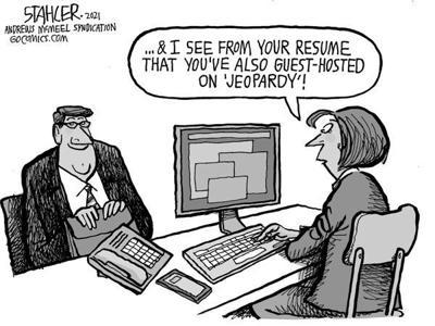 Editorial Cartoon: Revolving door
