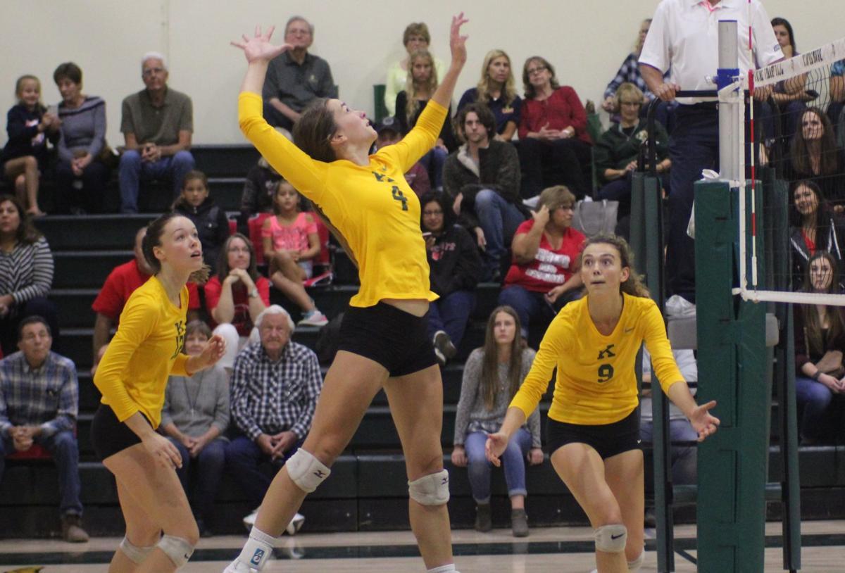 Kingsburg volleyball vs Fowler: Olivia Doyle