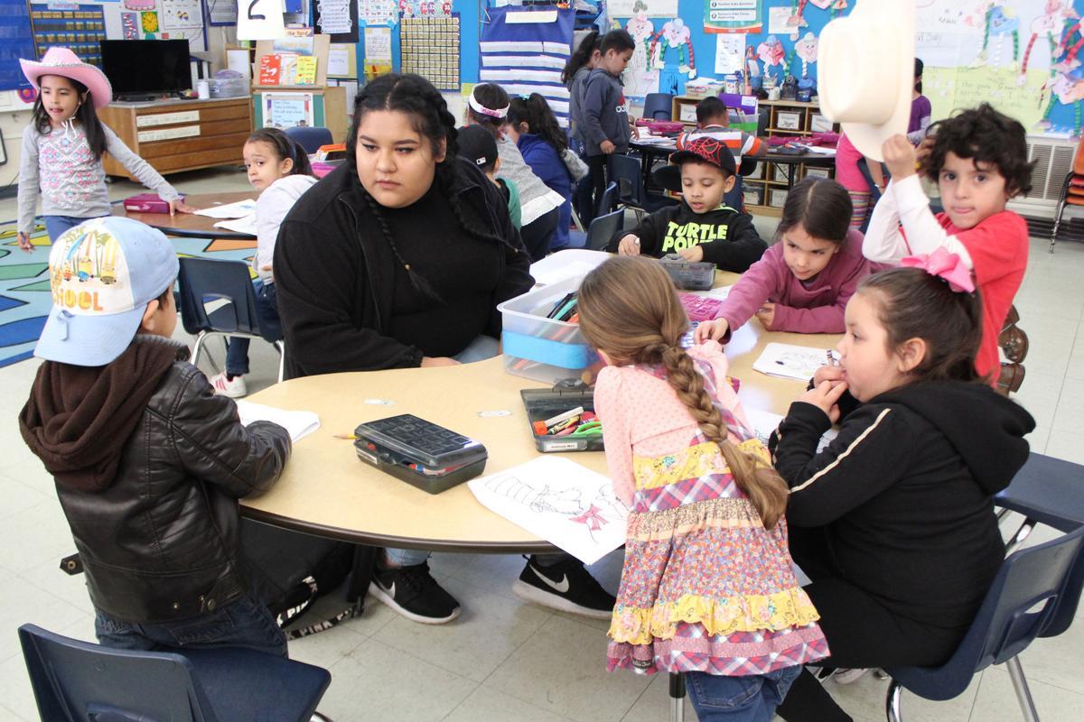 Future teachers: Zulia Tapia