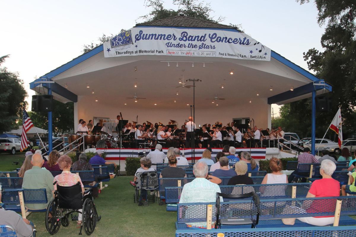 Kingsburg concerts: Starts June 21