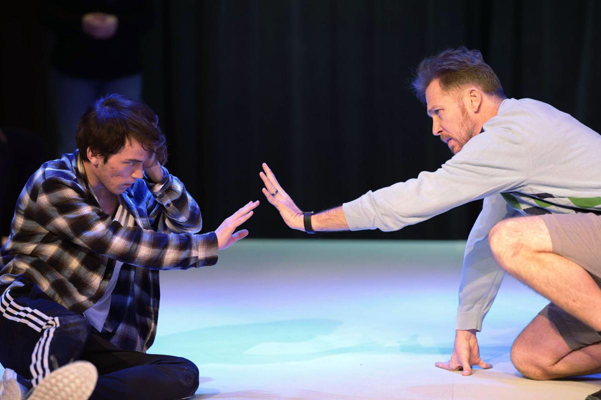 'Curious Incident': Rehearsals