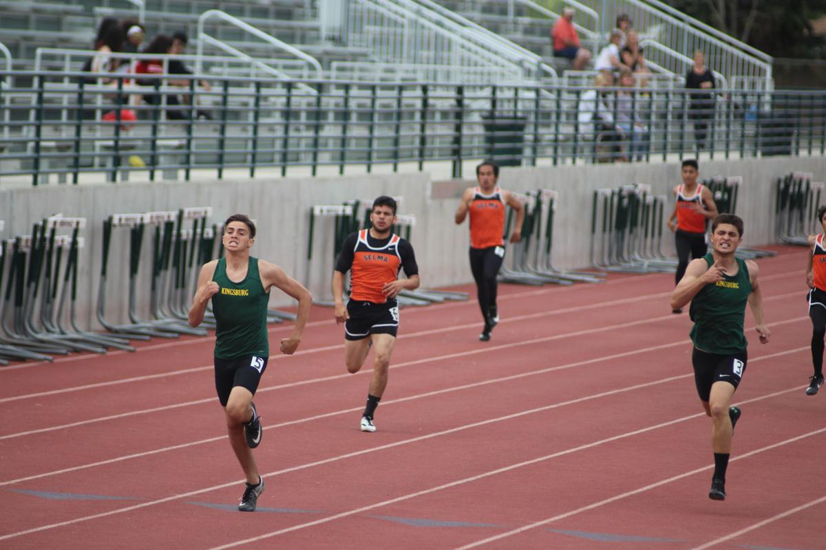 Kingsburg/Selma track and field