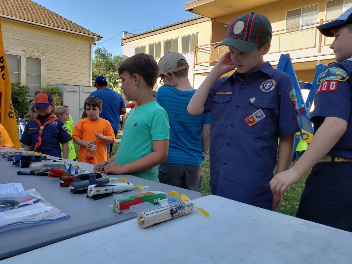 Cub Scouts register