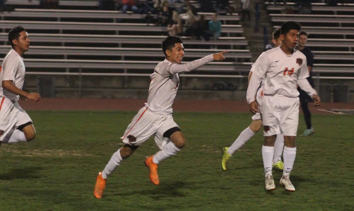 Selma boys soccer: Cesar Sanchez