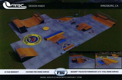 Kingsburg Council: Skate park