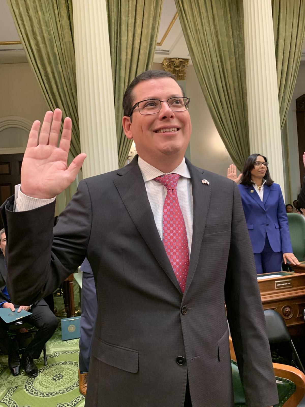 Rudy Salas sworn in