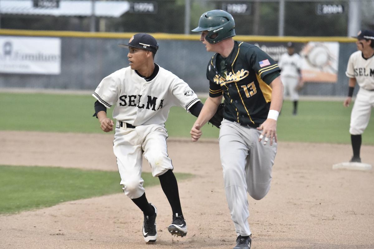 Selma vs Kingsburg baseball