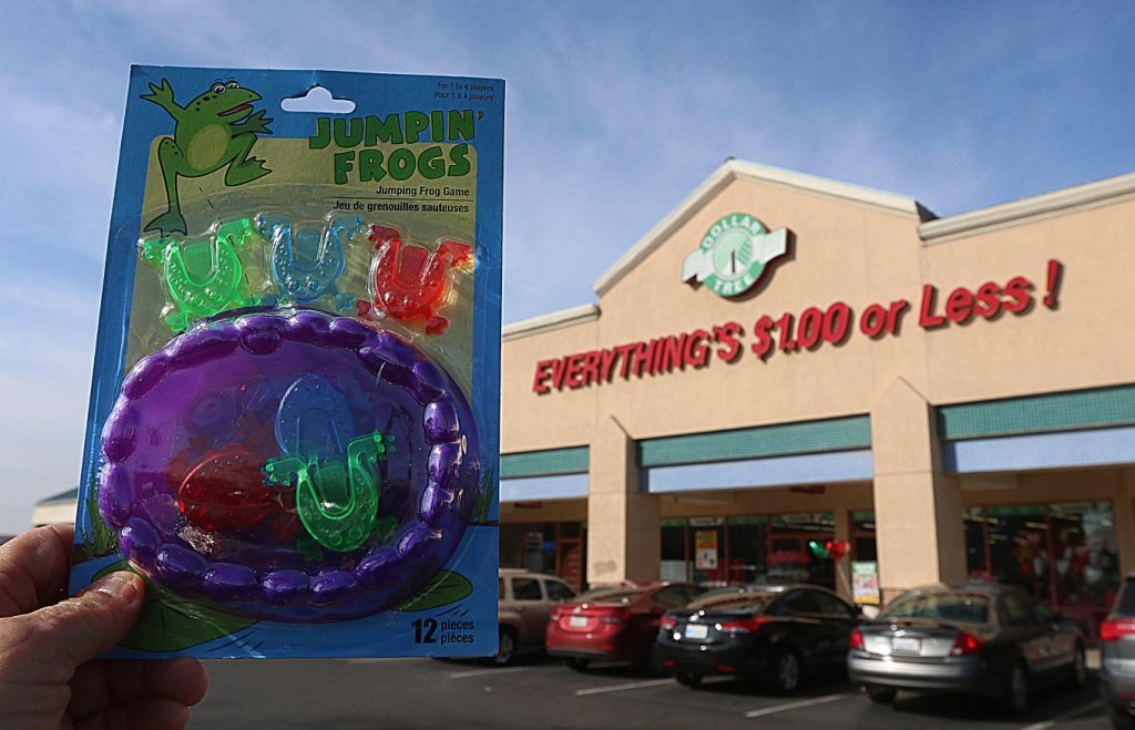 Study alleges toxic products sold at Dollar Tree, similar