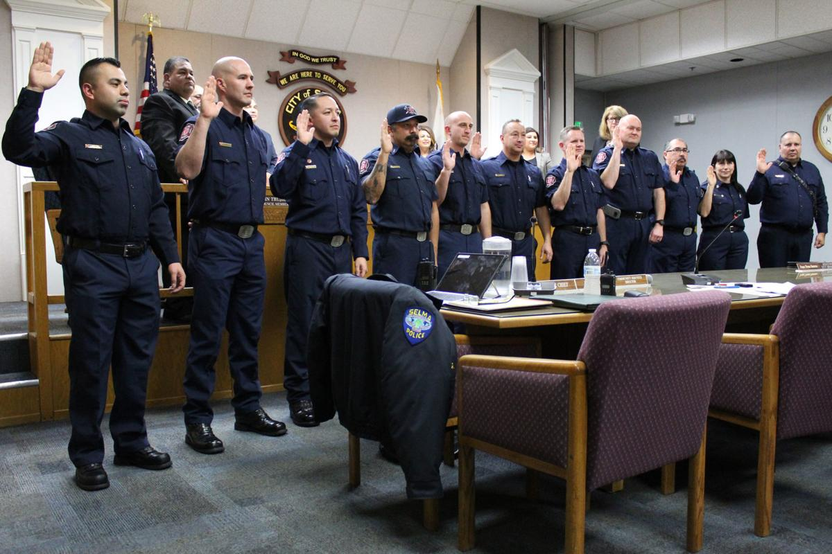 Selma Fire department: Sworn in
