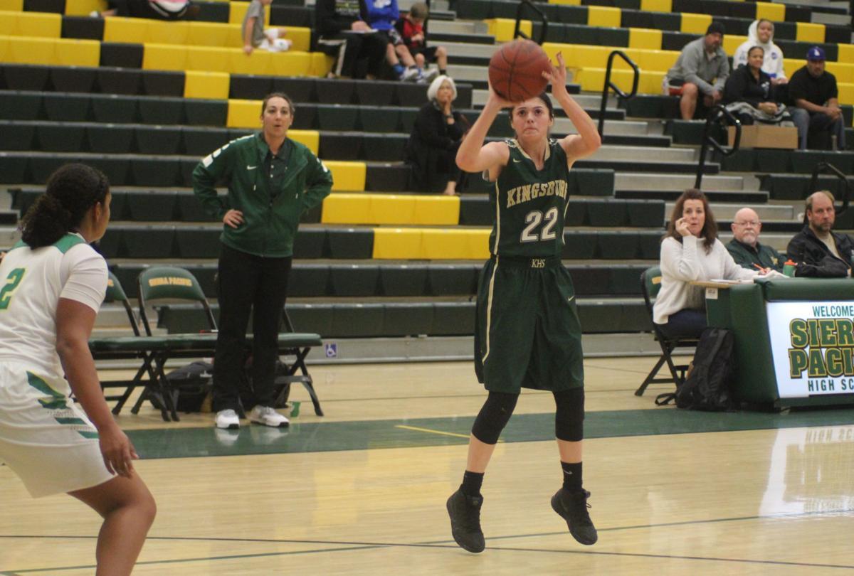 Kingsburg girls basketball: Maddie Alves