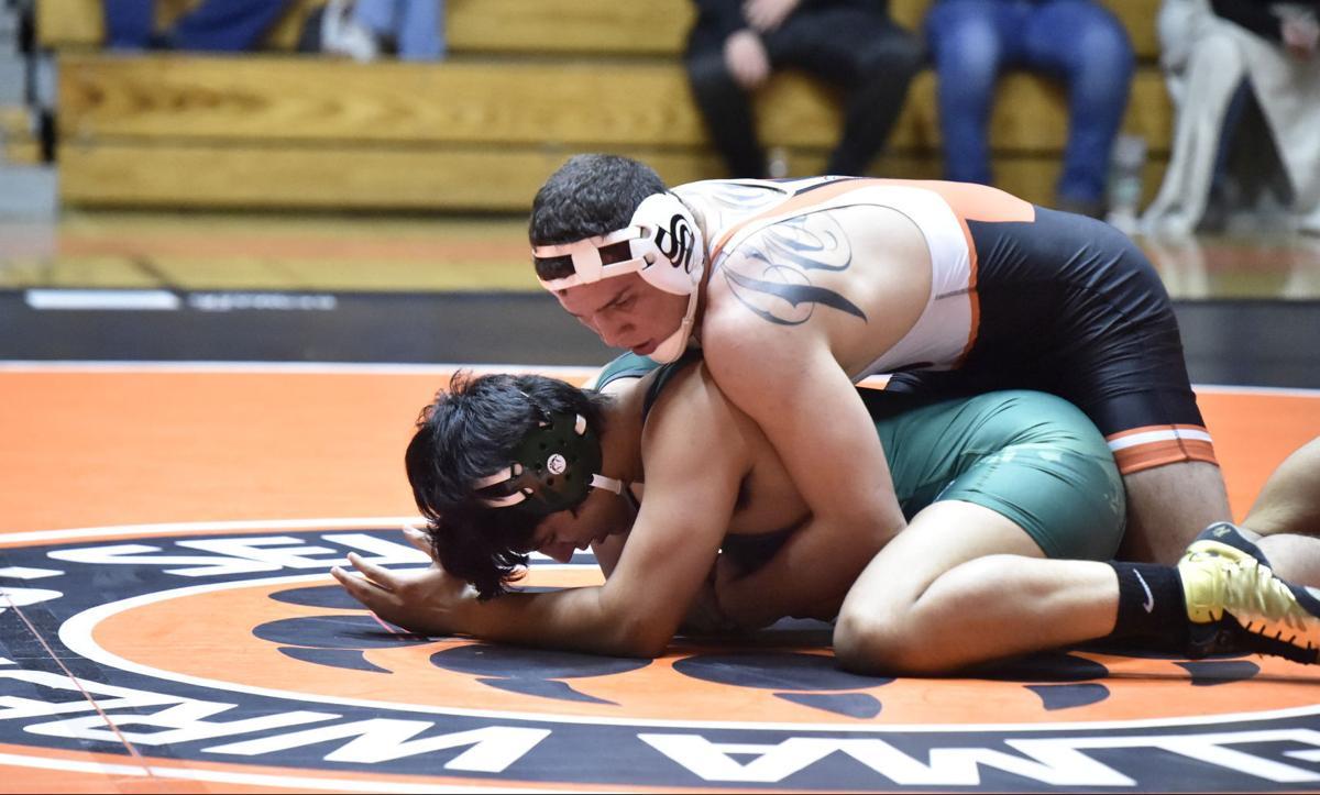 Selma wrestling: Christian Rodriguez
