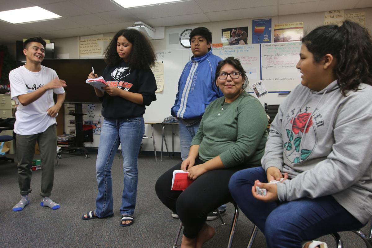 Selma High drama: Rehearsals