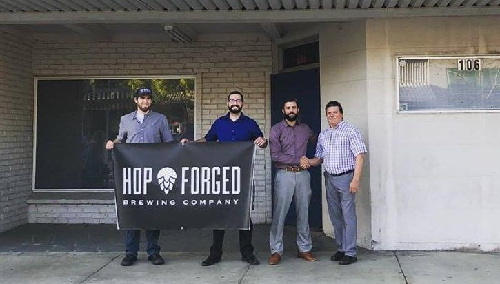 hops forged brewery