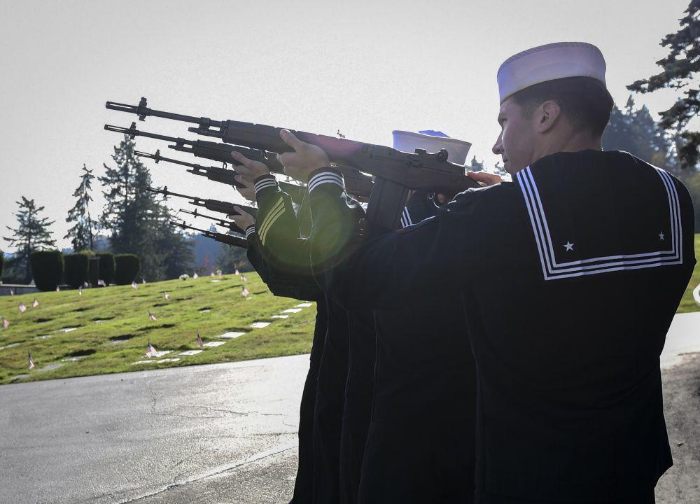 Nimitz Tolls Bells: Commemorates 100 Years Since The Great War