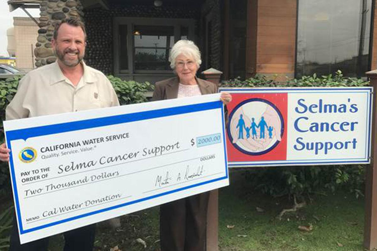 Cal Water: Donates to Cancer Support