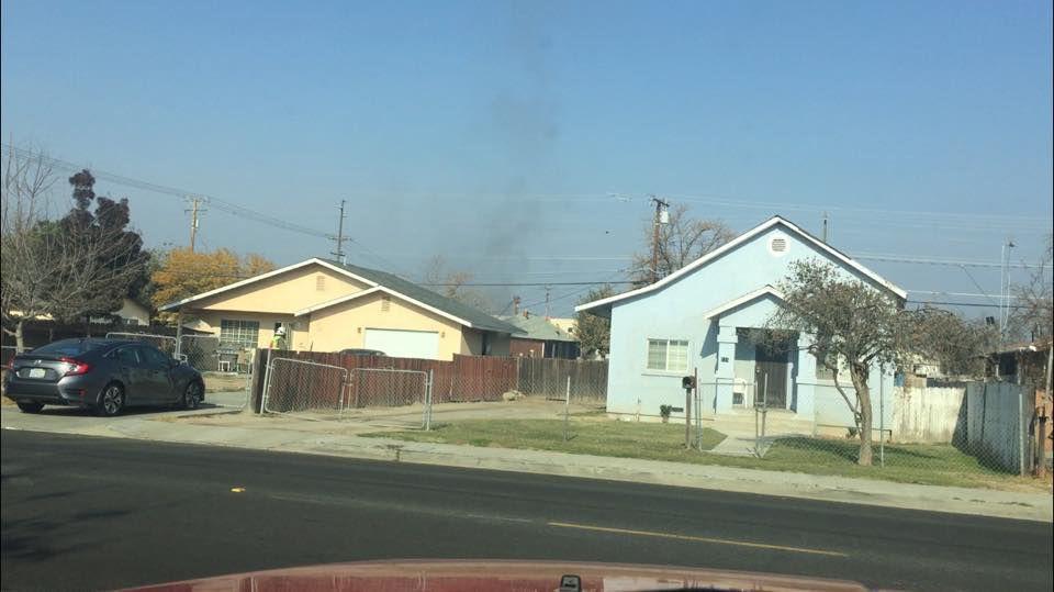 Second Street garage fire