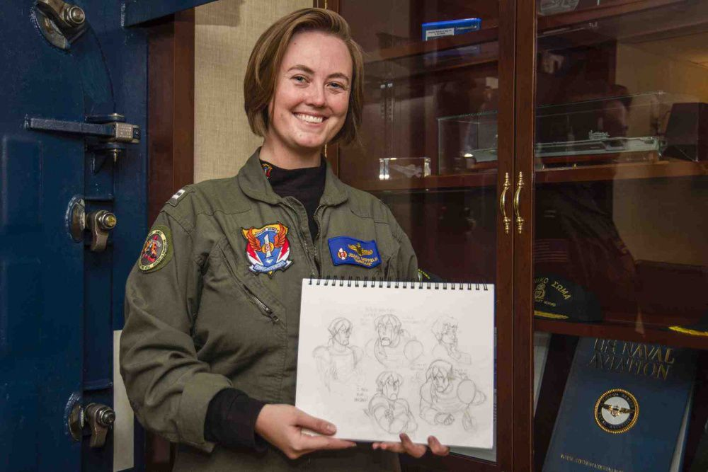 Drawn to Sea: Truman's Comic Book Artist