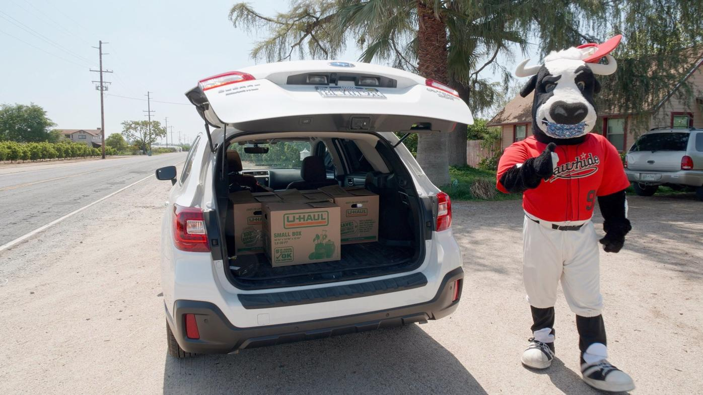 Visalia Rawhide owners team up to donate $30,000 for community relief