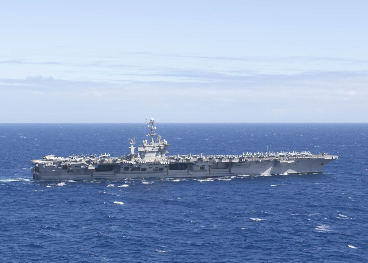 Ronald Reagan, John C. Stennis Carrier Strike Groups Operate in Philippine Sea