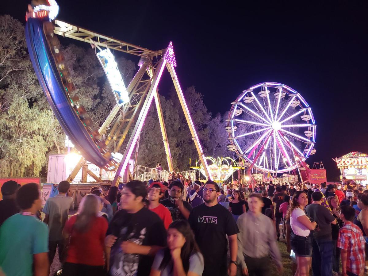 Kings Fair 2018 Rides night