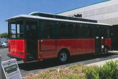 Kingsburg trolley: Considered at Council