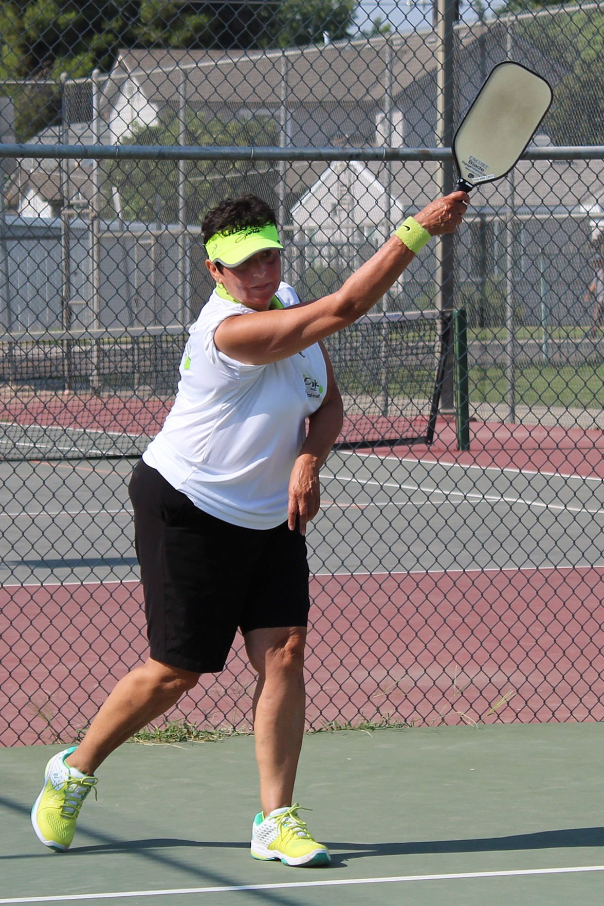 Free pickleball: Yvonne Medina