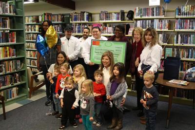 Leprino donation to Lemoore Library