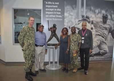 Navy Leaders Visit Local YMCA