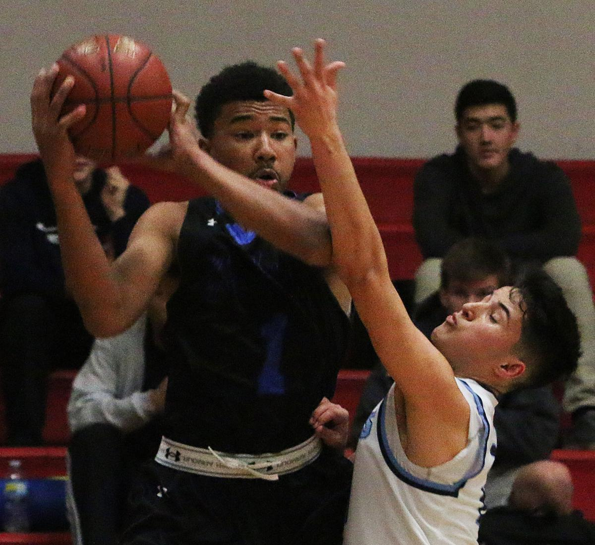 Hanford West Bullard basketball