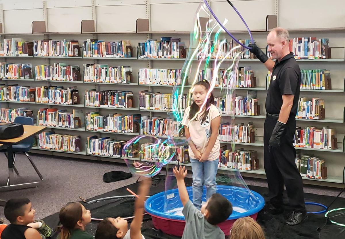 Double bubbles are no trouble at the library | Local
