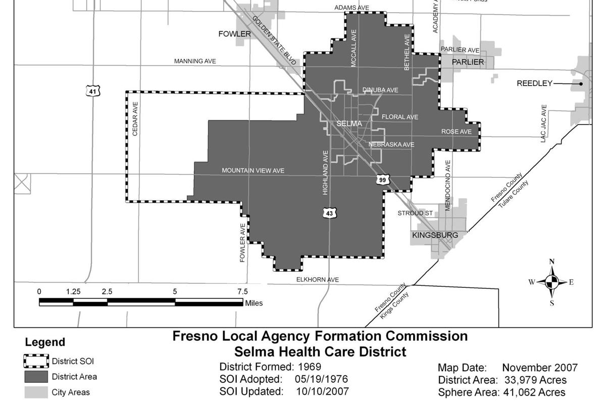 Selma Healthcare Board: Maps