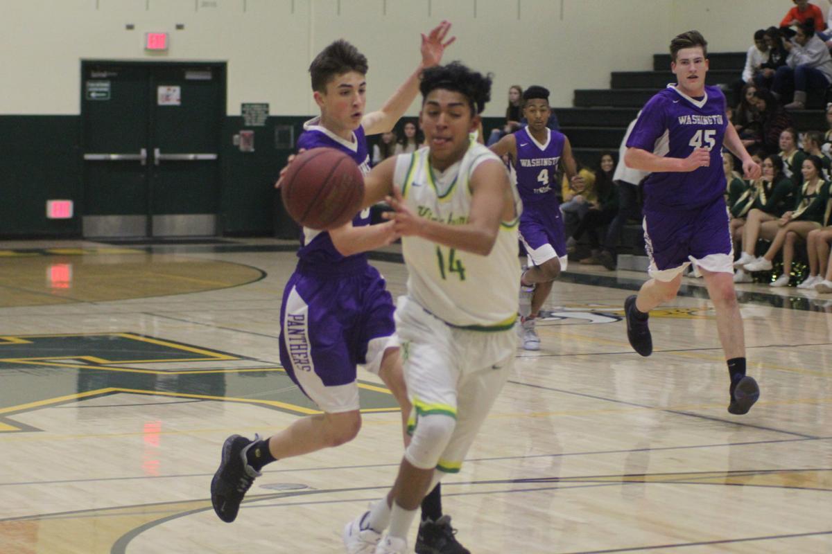 Kingsburg boys basketball: Juan Ortega