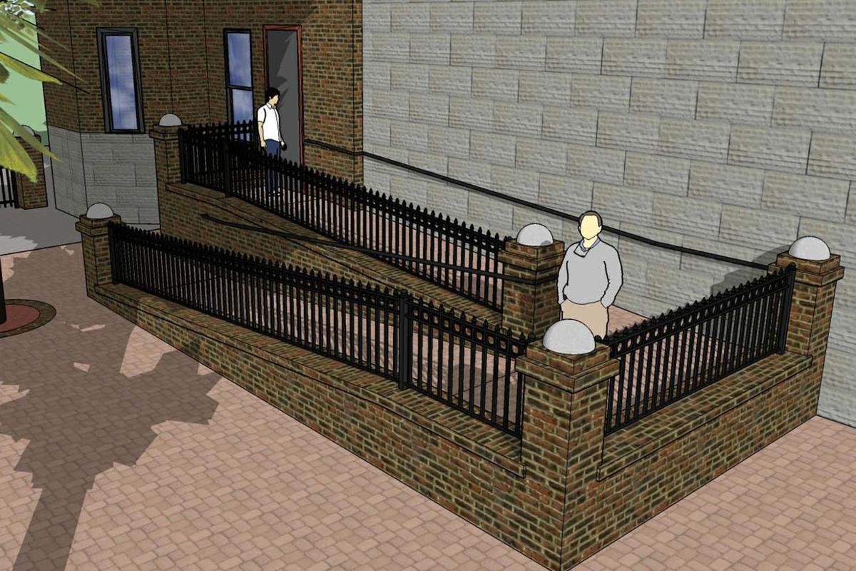 Bastille: New ramp
